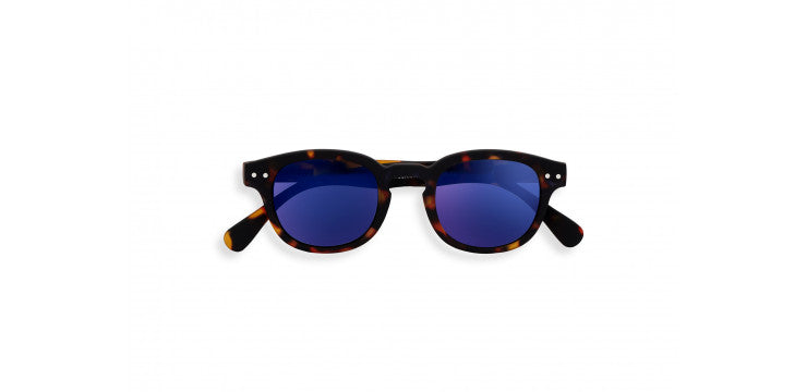 Izipizi sunglases Junior #C - Tortoise mirror