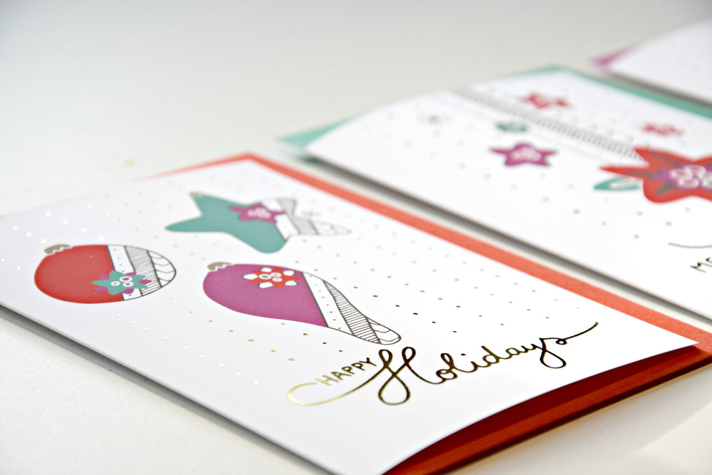 Christmas wish card - Happy Holidays - MintMouse (Unicorner Concept Store)