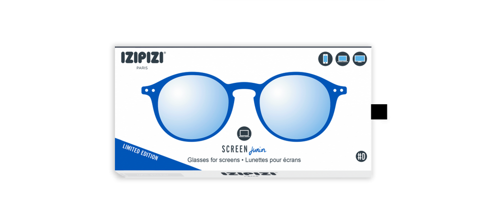 Izipizi Kids Screen glases #D - King blue - MintMouse (Unicorner Concept Store)