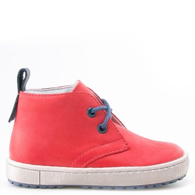 (2150-15/2242-15) Emel red Lace Up Trainers - MintMouse (Unicorner Concept Store)