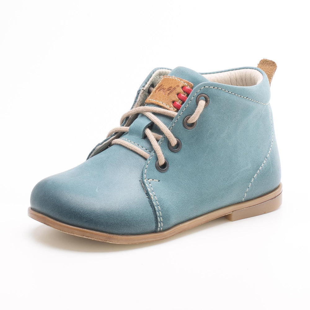(1075-2) Emel blue First Shoes - MintMouse (Unicorner Concept Store)