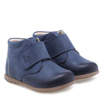 (1077D-4) Emel first shoes velcro blue