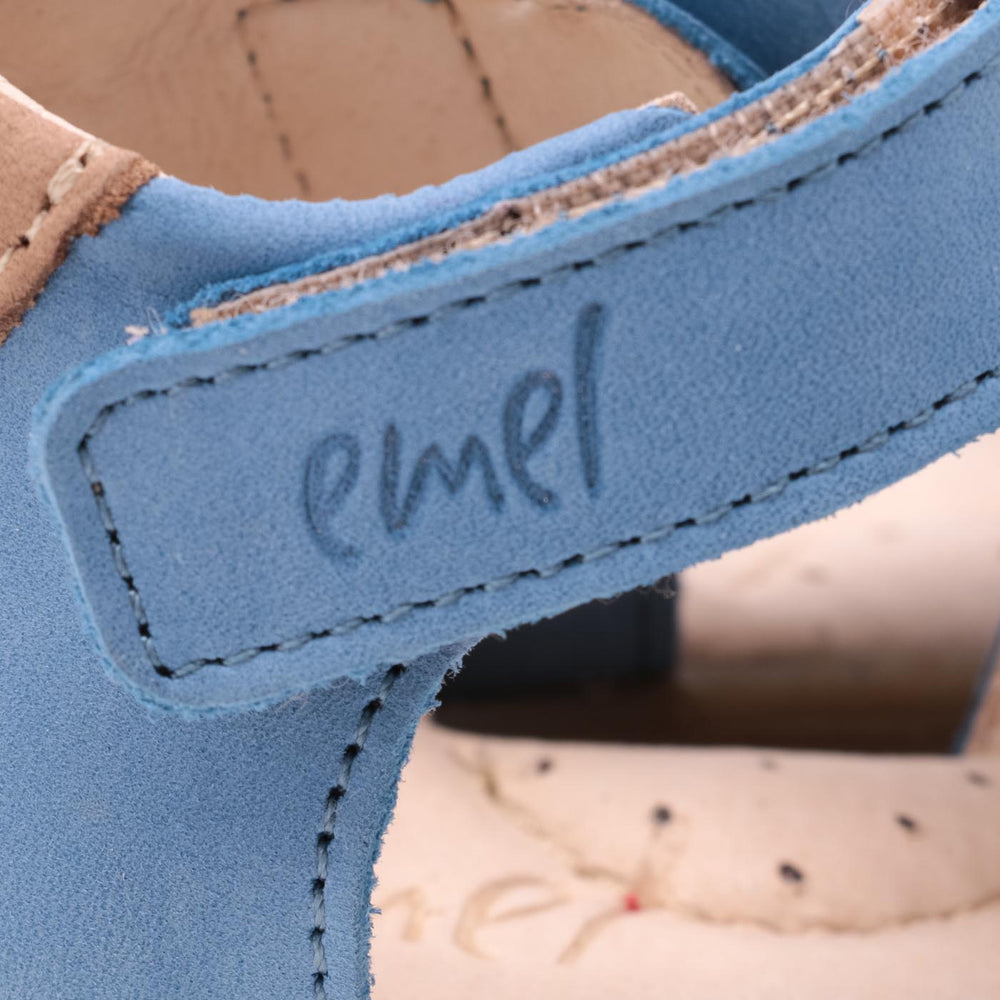 (1078-4) Emel blue closed sandals - MintMouse (Unicorner Concept Store)