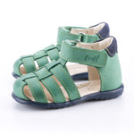 (1078-6) Emel green closed sandals - MintMouse (Unicorner Concept Store)