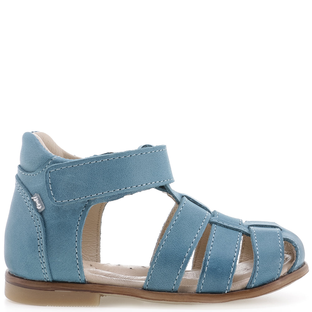 (1093-2) Emel blue turquoise closed sandals - Coming soon! - MintMouse (Unicorner Concept Store)