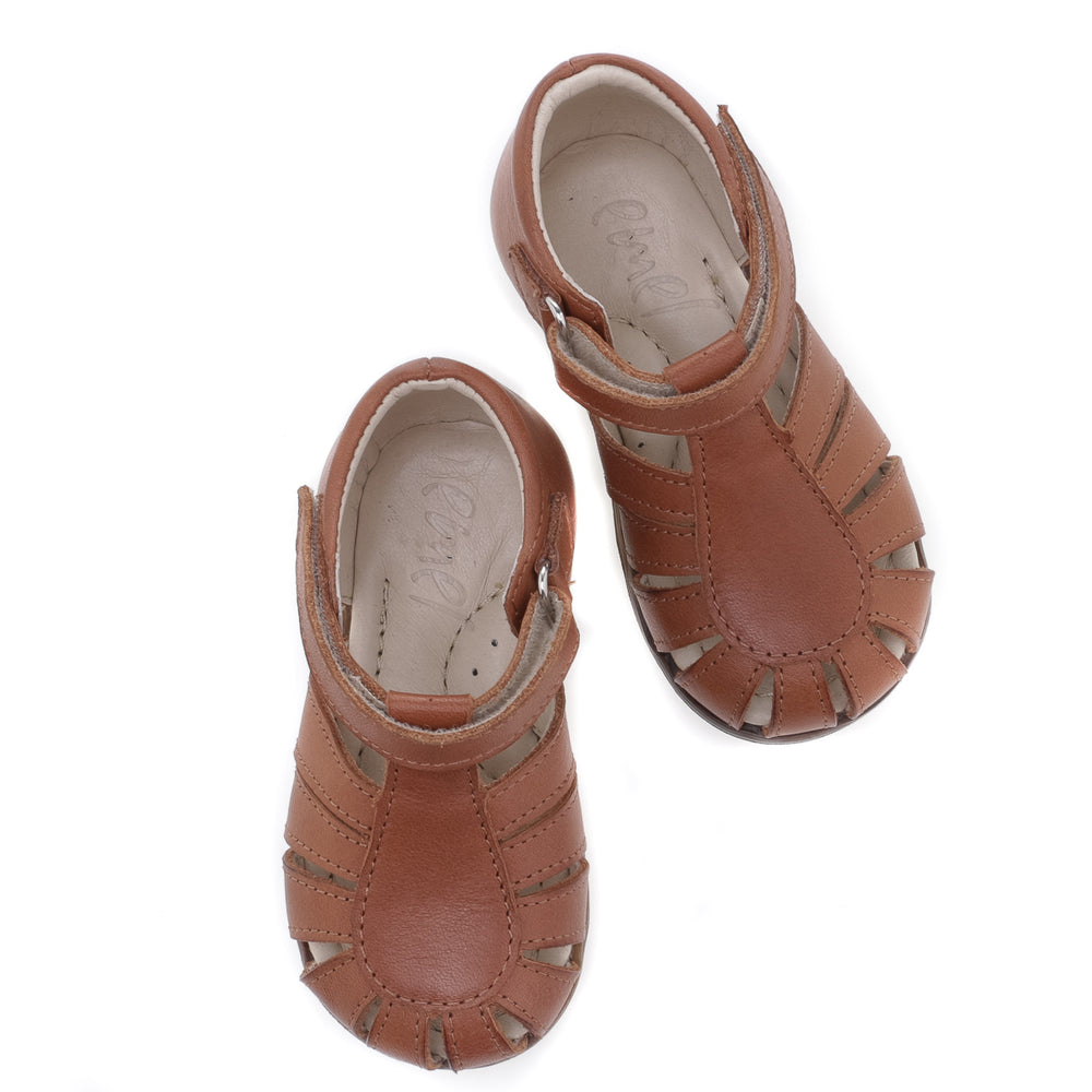 (1151A-1) Emel brown closed sandals - MintMouse (Unicorner Concept Store)