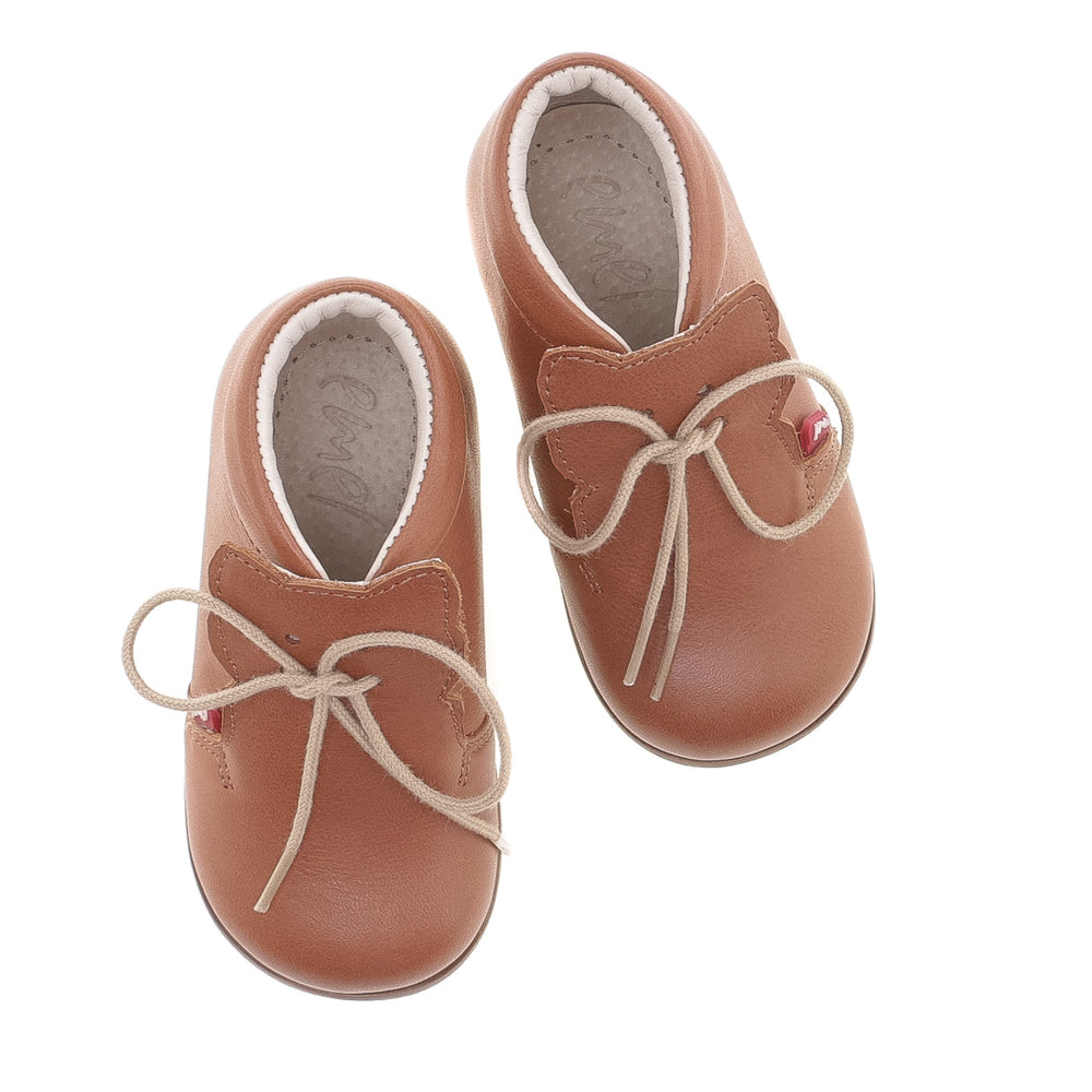 (1425-3) Emel classic first shoes brown