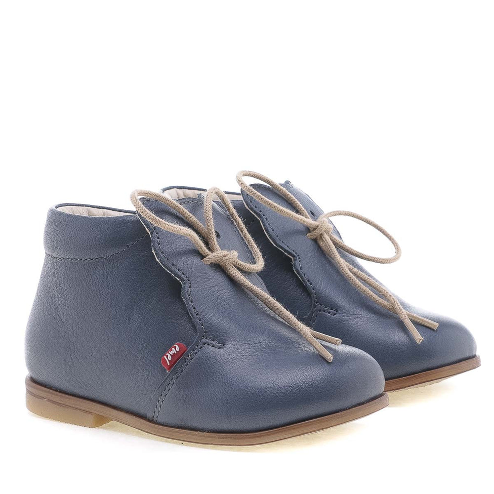 (1425) Emel Blue Lace Up Classics