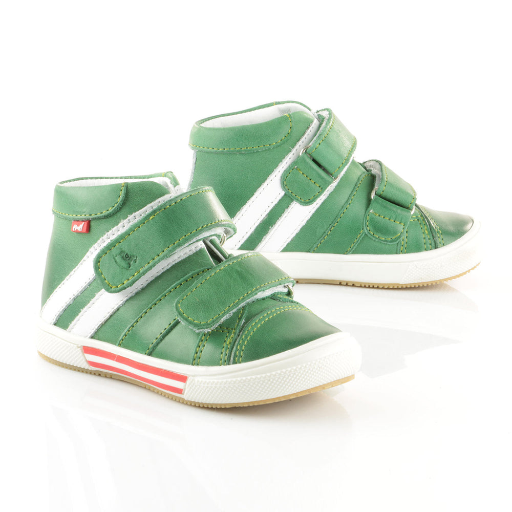 (1855-17) Emel Green Tennis with Velcro Straps - MintMouse (Unicorner Concept Store)
