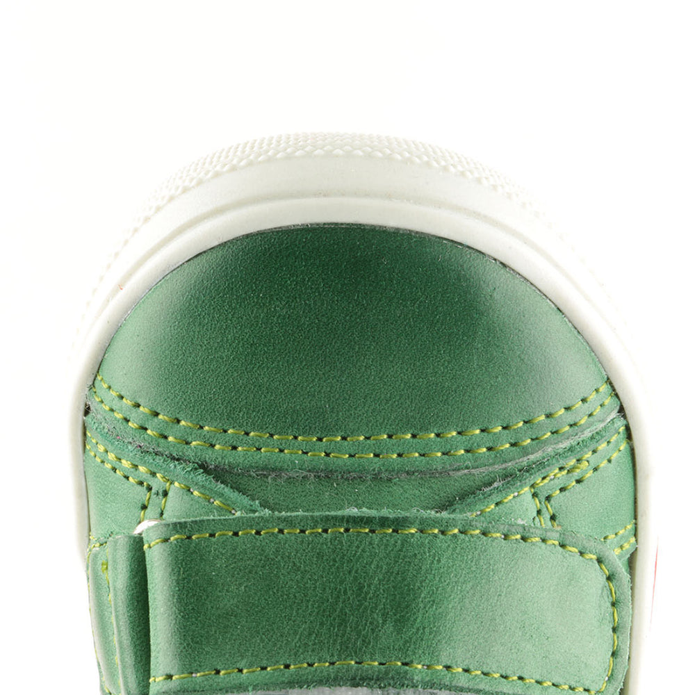 Emel Green Tennis with Velcro Straps (1855-17)