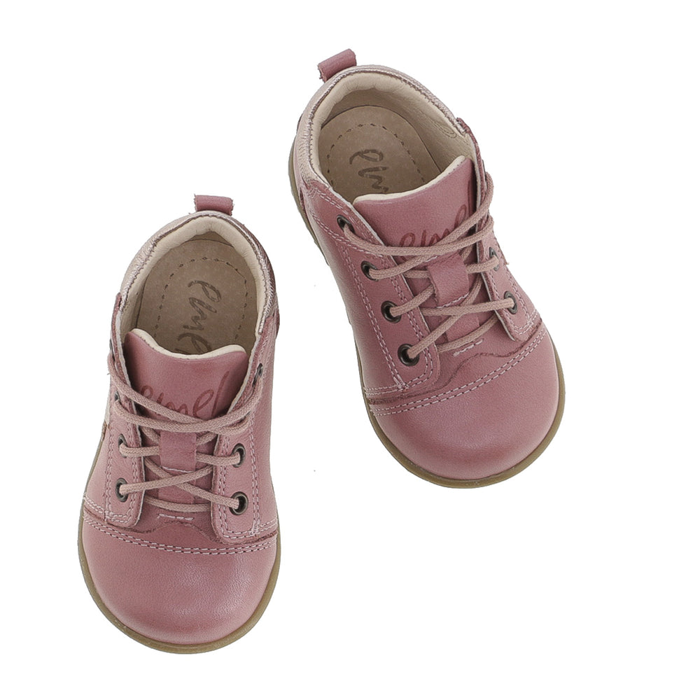 (2069G) Emel Lace Up First Shoes