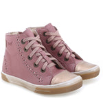 (2148E-7) pink trainers with zipper