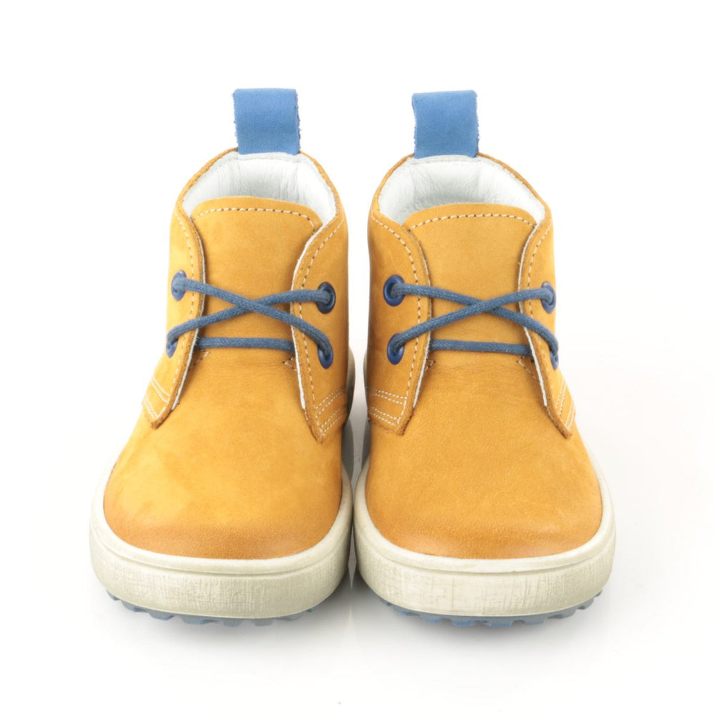(2150-22) Emel yellow Lace Up shoes - MintMouse (Unicorner Concept Store)