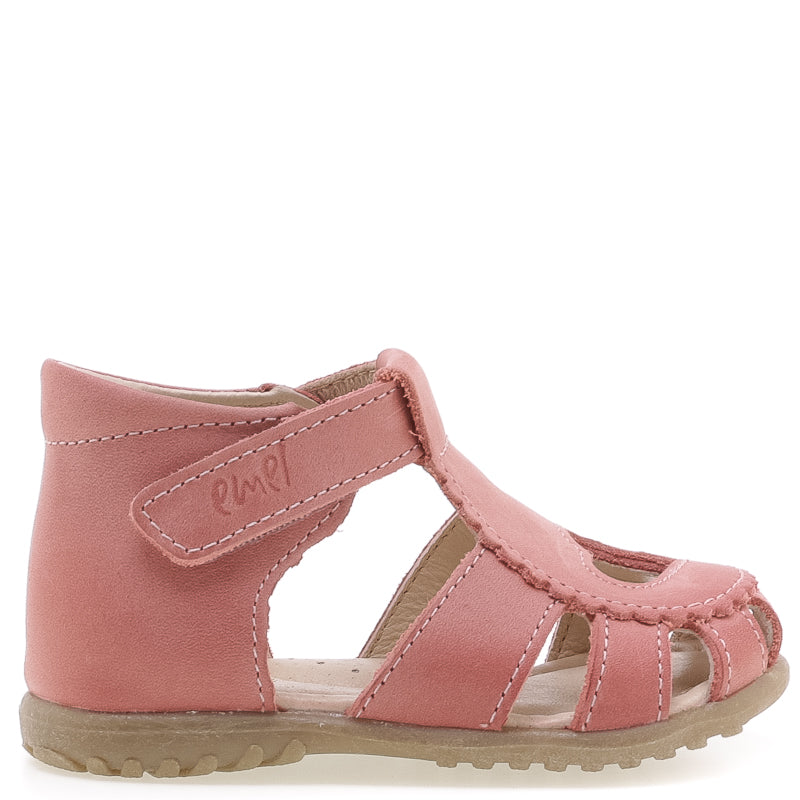 (2183A-4) Emel pink heart closed sandals - MintMouse (Unicorner Concept Store)