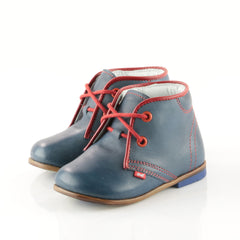 Emel Navy Red Lace Up Classics (2195-3)