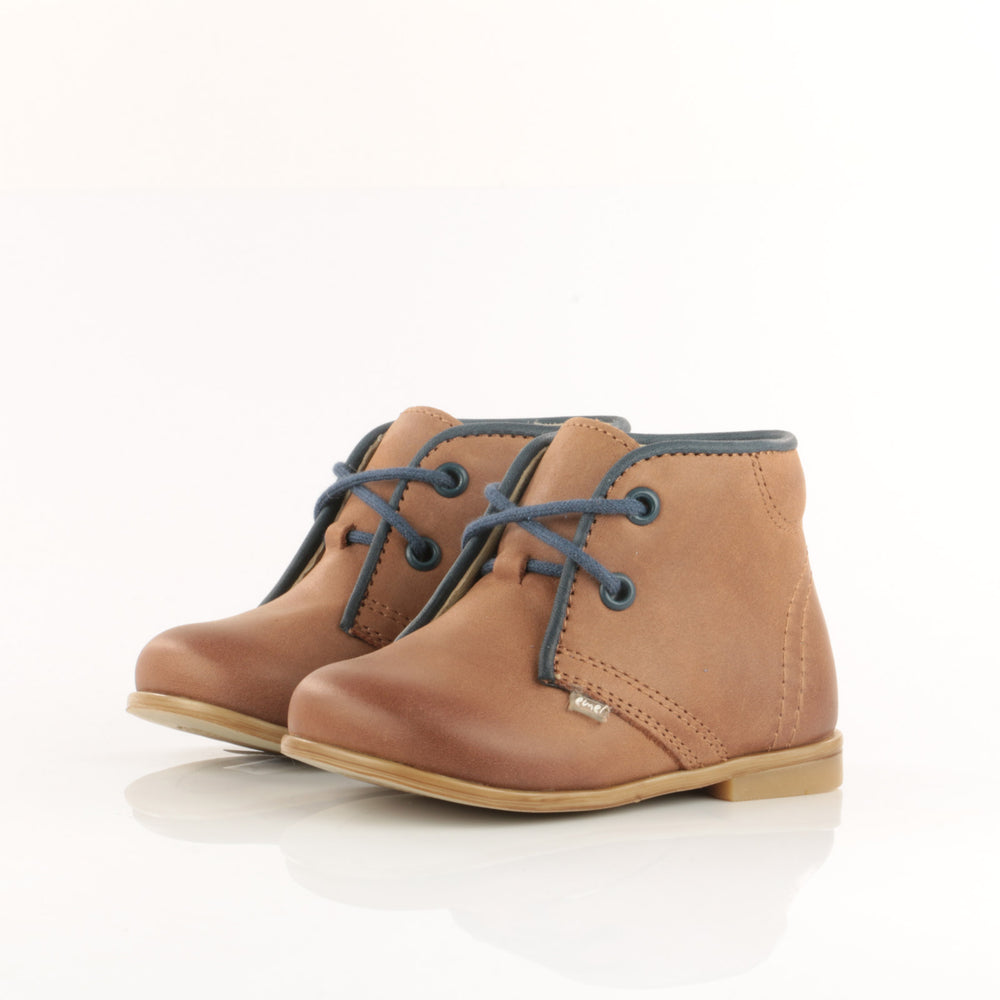 (2195-32) Emel classic first shoes dark brown - MintMouse (Unicorner Concept Store)