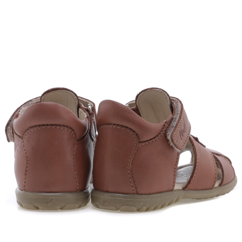 (2199-18) Emel brown closed sandals - MintMouse (Unicorner Concept Store)