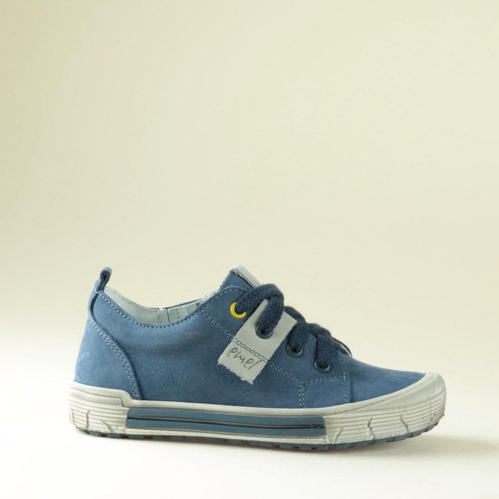 (2251-6) Navy Low Lace Up Trainers - MintMouse (Unicorner Concept Store)