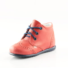Emel Red Lace Up Classics (2341-5)