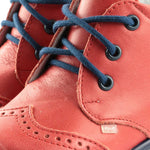 Emel first shoes - red brogue (2341-5)