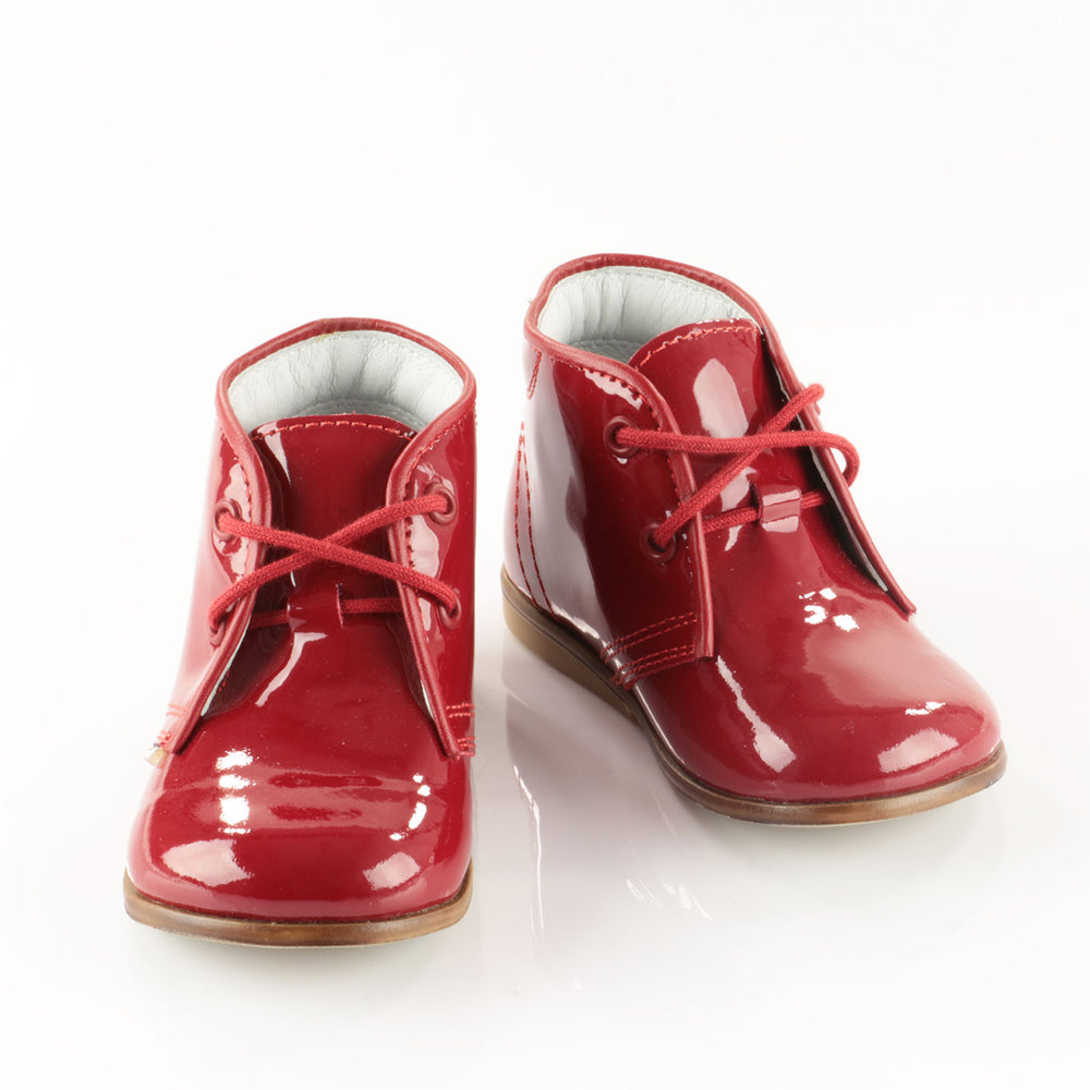 (2393-1) Emel red patent classic first shoes - MintMouse (Unicorner Concept Store)