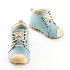 Emel Sky Blue Lace Up Classics (2400-7)