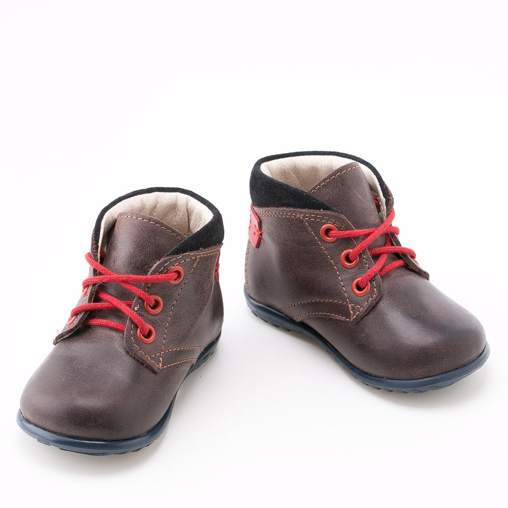 (2440-8) Emel first lace up shoes brown - MintMouse (Unicorner Concept Store)