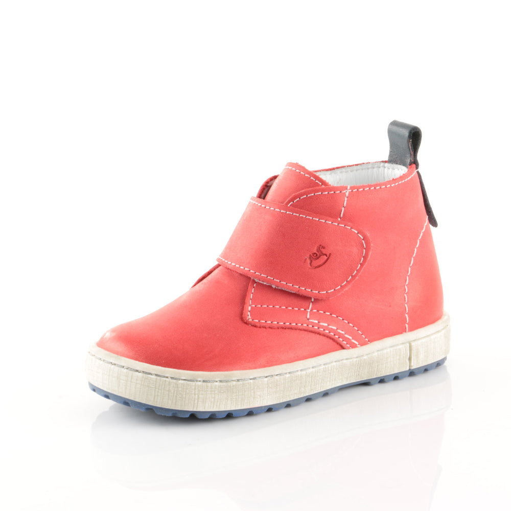 (2470-12 / 2489-12) Red Velcro Trainers