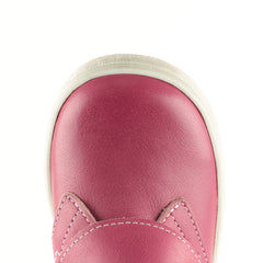 Emel Pink Velcro Trainers (2470-9)