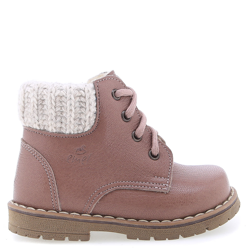 (2540A-10W) Emel winter shoes nude