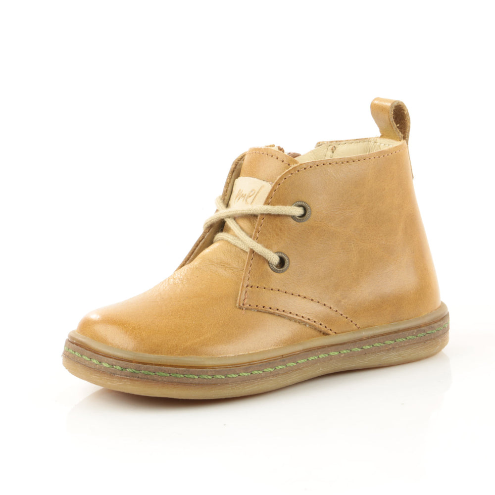 (2621-6) Emel mustard lace-up shoes with zipper - MintMouse (Unicorner Concept Store)