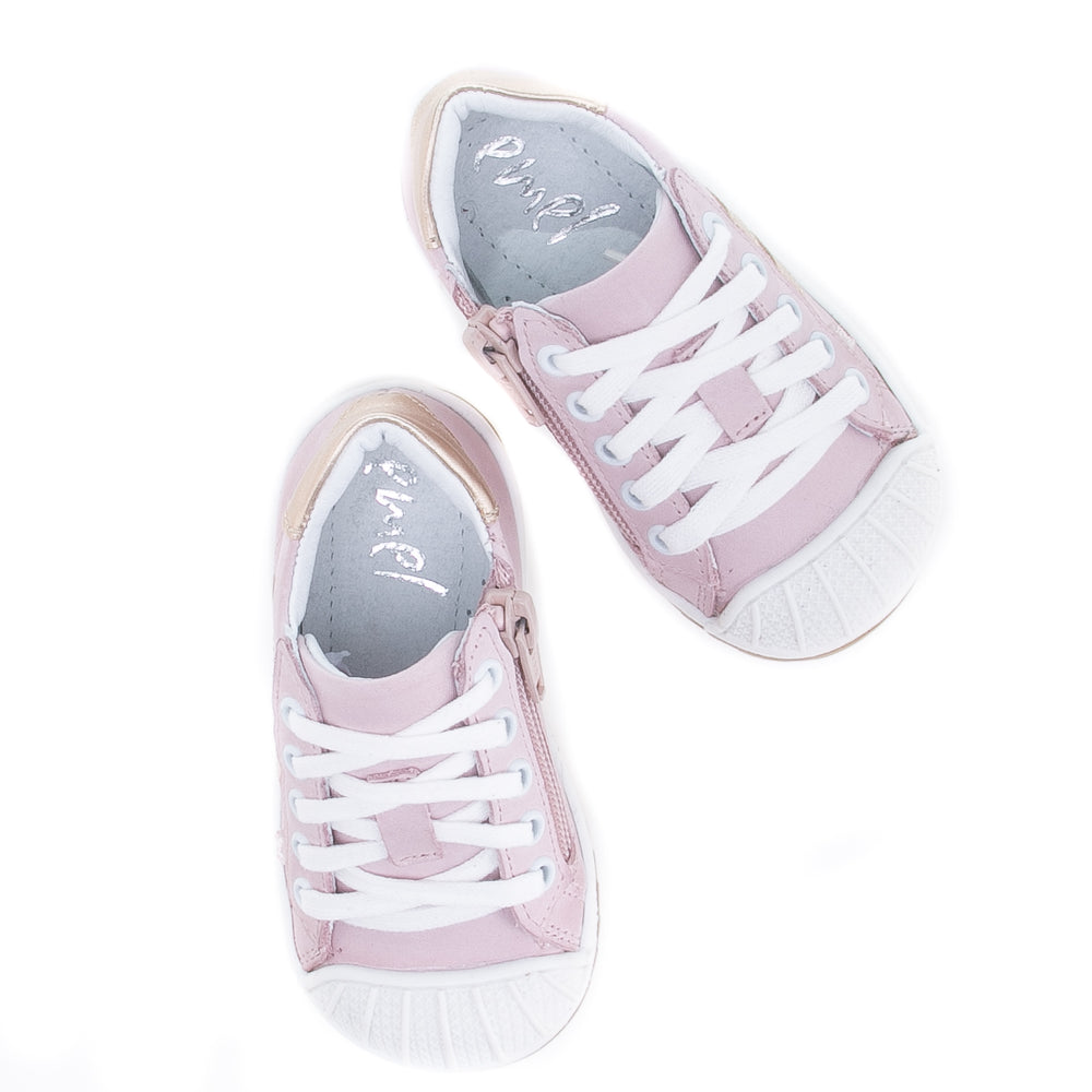 (2627A-20/2628A-20) Low Bumper Trainers pink with Zipper - MintMouse (Unicorner Concept Store)
