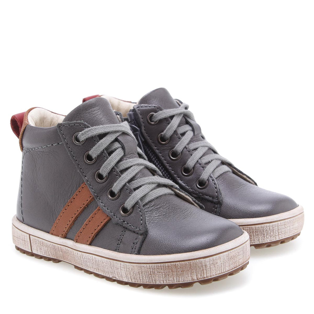 (2636-17 / 2656-17) Emel shoes grey sneakers