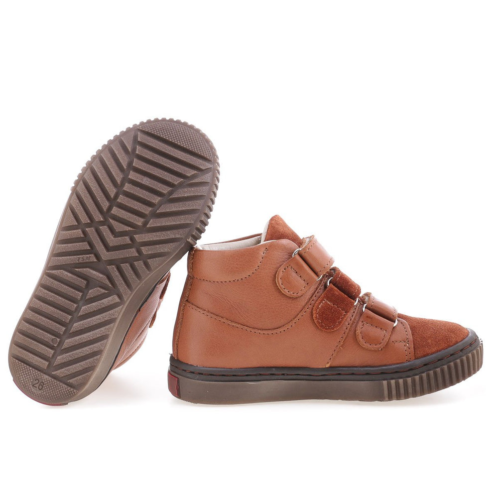 (2699-5) Emel velcro shoes - brown - MintMouse (Unicorner Concept Store)