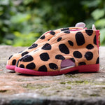 Cheetah Slippers Pink - MintMouse (Unicorner Concept Store)