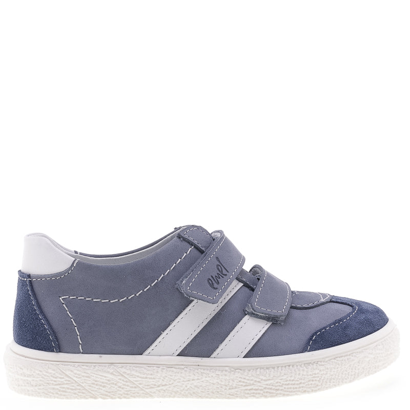 (2708-1) Low Velcro sneakers blue