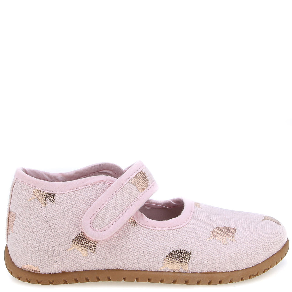 Emel slippers - Pink Unicorns ballerina (103-1)