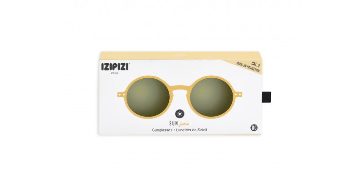 Izipizi Sunglases Junior #G - Yellow honey - MintMouse (Unicorner Concept Store)