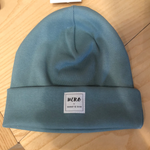 Winter beanie light blue