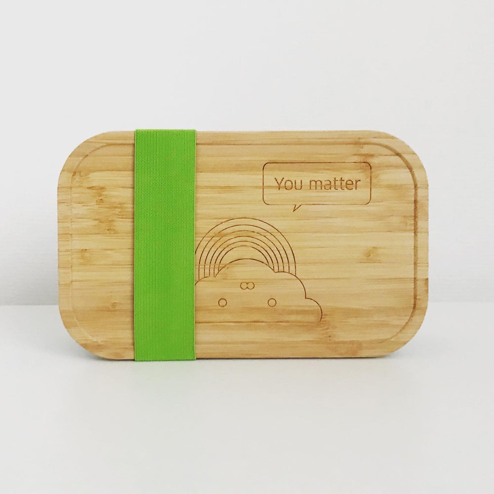 Ecological lunchbox - You matter green
