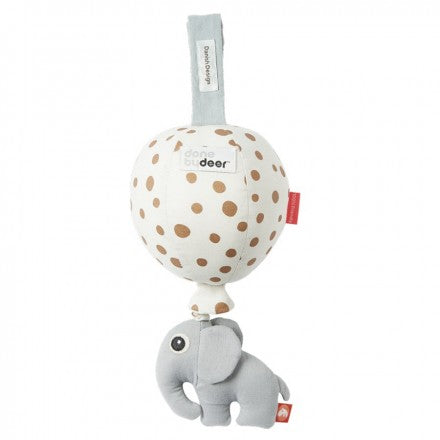Musical balloon Donebydeer - gold dots music mobile - MintMouse (Unicorner Concept Store)