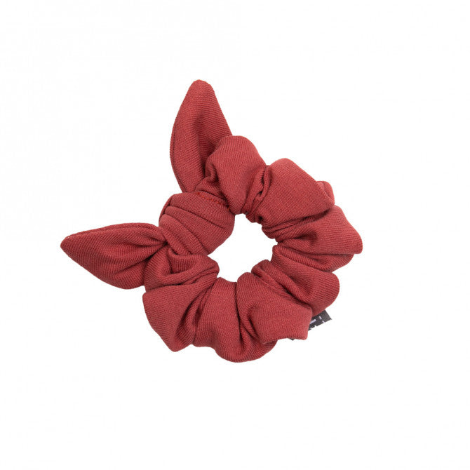 Mini scrunchie  marsala