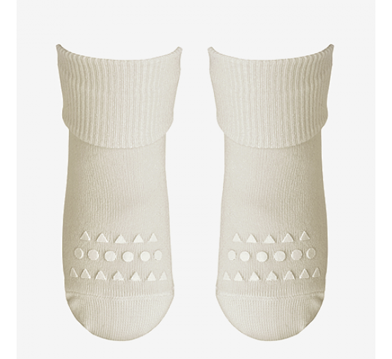 Anti-slip BAMBOO socks - white