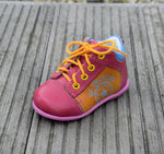 (2069-12) Emel Pink Yellow Blue Lace Up Trainers - MintMouse (Unicorner Concept Store)