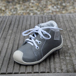 (2388-1) Taupe Lace Up Trainers with bumper - MintMouse (Unicorner Concept Store)