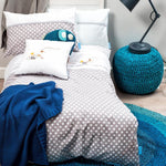 Bed linen set junior grey dots 49.90 - 50% - MintMouse (Unicorner Concept Store)