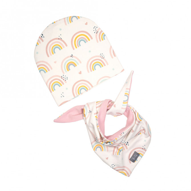 Hat and scarf set - rainbow - MintMouse (Unicorner Concept Store)