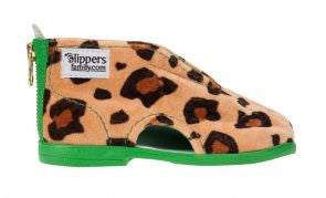 Panther Slippers Green