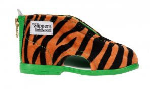 Tiger Slippers Green