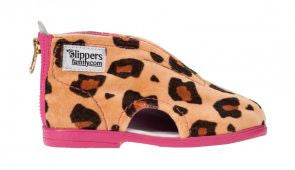 Panther Slippers Pink